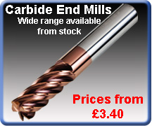 Carbide End Mills Drills
