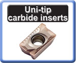 Carbide Inserts for Milling Uni-tip