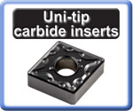 Carbide Inserts for Turning Uni-tip