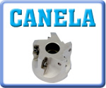 Canela 90° Face Mills for APKT Inserts