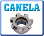Canela Face Mills for ODMT Inserts
