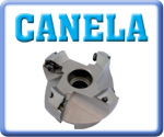 Canela 45° Face Mills for SEKN - SEHT Inserts