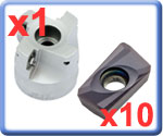 Indexable Milling Sets