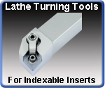 Turning Tools for Indexable Inserts