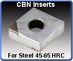CBN Turning Inserts
