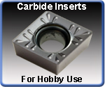 Carbide Inserts Hobby Use