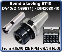 Spindle Tooling
