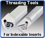 Threading Tools for Indexable Inserts