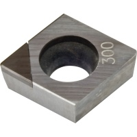 CCMW 09T304 CBN300 CBN Turning Insert for Hardened Steel 45-65 HRC Interrupted Cutting