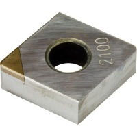 CNMA 120404 CBN2100 CBN Turning Insert for Hardened Steel 45-65 HRC Continuous Cutting