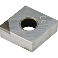 CNMA 120408 CBN300 CBN Turning Insert for Hardened Steel 45-65 HRC Interrupted Cutting