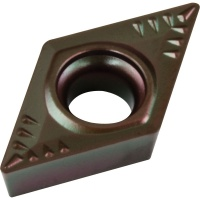 DCMT 11T304 MPN PC35 Carbide Inserts for Turning CVD Coated for Difficult Steel Turning