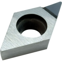 DCMT 11T304 PCD 1300 Diamond Turning Insert for Aluminium Alloys with less than 12% Si content
